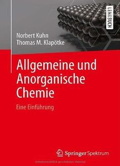 Allgemeine Und Anorganische Chemie: Eine Einführung PDF