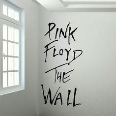 PINK FLOYD LARGE KITCHEN BEDROOM WALL MURAL GIANT ART STICKER DECAL MATT VINYL #BespokeGraphics #Removablevinylwallsticker