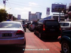 Traffic Jam at Magelang City