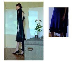 Dress: VETEMENTS Shoes: MAISON MARGIELA Pot Pourri: MAD ET LEN Fragrance: COMME DES GARÇONS parfums