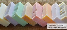 How to make handmade, natural soap with essential oils & garden herbs and flowers