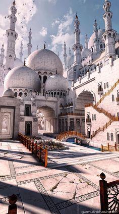 Beautiful Masjid of Kavar, Iran