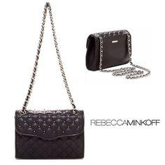 7af84884d8 Rebecca Minkoff Quilted + Studed Crossbody Bag This Rebecca Minkoff  shoulder bag gives classic details like