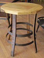 Round Bistro Table for kitchen