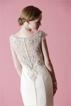Lovely lace down the back