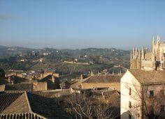 Looking from Toledo, Spain Paris Skyline, Travel, Viajes, Traveling, Trips, Tourism