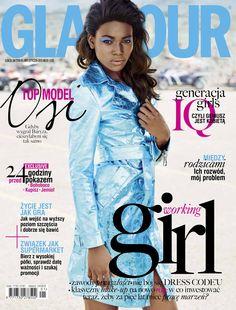 Osi Ugonoh for Glamour Poland January 2015