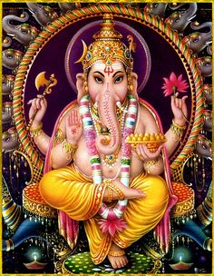 Shiva Art, Hindu Art, Lord Vishnu Names, Fixing Marriage, Android Wallpaper Space, Lakshmi Images, Religious Rituals, Shree Ganesh, Lord Ganesha