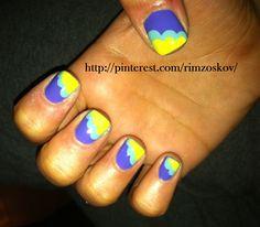 my nail tryouts lol