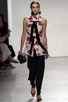 Proenza Schouler Spring 2016 Ready-to-Wear Fashion Show - Aubree Rivera