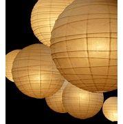 cheap, cheap, cheap paper lanterns! #girls rooms