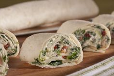 Instead of packing the same ol' sandwich for your kids, try these creamy rollups. They're easy to make and kids will love the flavor. Plus, you'll love that they'll be eating their spinach, too!