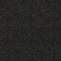 Woolies Flannel Fabric Nubby Tweed - Black