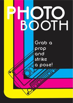 80's Photo booth Party Props Sign - PRINTABLE - 1980's Disco Photo Booth Prop Sign