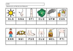 Fitxes per treballar la consciència fonològica Catalan Language, Sistema Solar, Clu, Homeschool, Classroom, Activities, Education, Creative, Iris