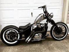 Honda Bobber, Softail Bobber, Bobber Kit, Honda Shadow Bobber, Virago Bobber, Harley Davidson Sportster 883, Bobber Bikes, Harley Bobber, Cool Motorcycles