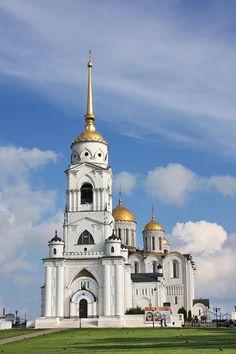 Vladimir Cathédrale de le Dormition clocher успенский собор -