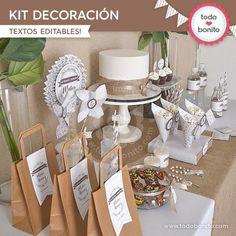 Rústico: kit decoración
