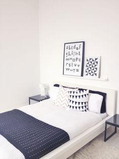 IKEA Malm Bed Decorations Ideas