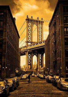 Manhattan Bridge Brooklyn, NYC