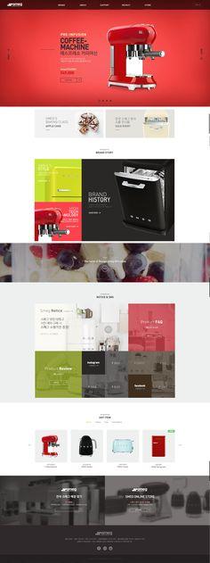 디자인 나스 (designnas) 학생 웹디자인 (bx web micro site) 포트폴리오입니다. / 키워드 : brand, bx, ui, ux, design, brand experience, bx design, ui design, ux design, web, web site, micro site, portfolio / 디자인나스의 작품은 모두 학생작품입니다. all rights reserved designnas / www.designnas.com Web Design Examples, Web Ui Design, Grid Design, Web Layout, Layout Design, Coffee Websites, Grid Website, Portfolio Web Design, Responsive Web