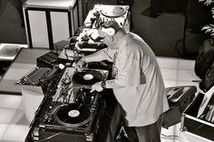 legends beats & grooves DJ that spin vinyl