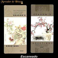 Dois Marcadores De Livro – Bookmark Season's 07. Frete Grátis - Carta Registrada
