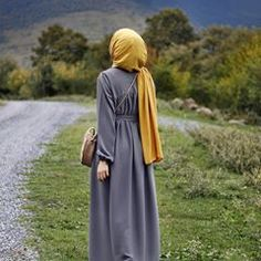 Mektup We& have a letter story. Modern Hijab Fashion, Abaya Fashion, Muslim Fashion, Dubai Fashion, Hijab Style, Hijab Chic, Hijabi Girl, Girl Hijab, Hijab Dress