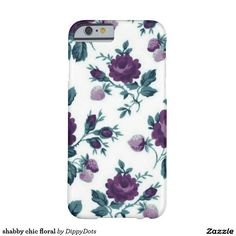 shabby chic floral barely there iPhone 6 case