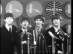 Beatles 1st USA Press Conference February 7, 1964 NYC