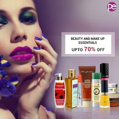 Embrace the weekend by shopping for these beauty and make up products at pocket friendly prices. Get upto 70% off.