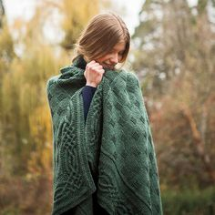 Stornoway Throw - Knitting Patterns and Crochet Patterns from KnitPicks.com