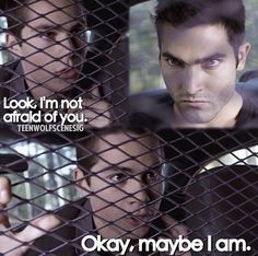 Teen Wolf Stiles has always been scared of Derek since they first met in season 1