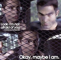 Teen Wolf Stiles has always been scared of Derek since they first met in season 1