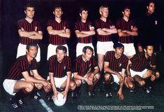 El Milan de Gianni Rivera. Esta imagen corresponde a la Temporada 1969.