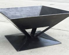 NEW 26 Square Fire Pit Solid Steel Wood Stove Made by GabbysCloset
