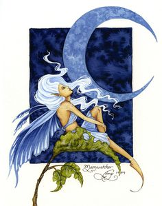 Fairy Art by Amy Brown - Moonwatcher