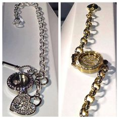 Our bracelet comes in silver and gold. www.truleighcharmed.origamiowl.com