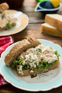 basil, lemon juice, and Parmesan cheese, these Basil Chicken Salad ...