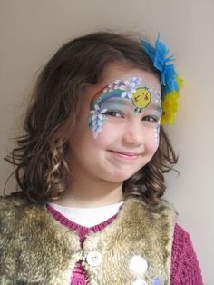 √ Easy Face Painting Ideas for Kids [Images] Bunny Ears Headband, Ear Headbands, Easter Face Paint, Father Images, Orange Makeup, Rainbow Painting, Uk Images, Paint Drying, Makeup Videos