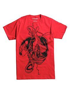 Superman Shirt L Somber Power Adult Ringer T