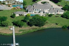 Luxurious Living on Maryland's Eastern Shore.  Gorgeous waterfront home with amazing details inside and out!