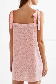 Three J NYC | Stella printed cotton-poplin nightdress | NET-A-PORTER.COM