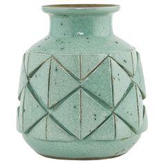 Avron Vase 20cm, Grønn, House Doctor