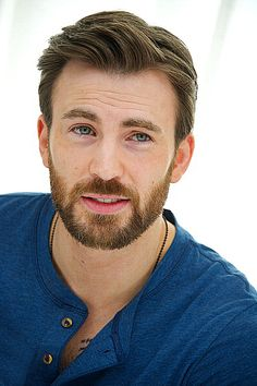 Chris Evans you can be my captain