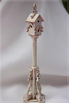 The castle Mermaid's log book Miniture Dollhouse, Dollhouse Miniatures, Shabby, Mini Plants, Miniture Things, Bird Cage, Bird Houses, Decorative Bells, Art Dolls