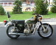 My 1973 Honda CB450... runs like a dream (and by dream, I mean the dreams that an asthmatic chain smoker has about someday being able to walk a few steps without having to sit down again)