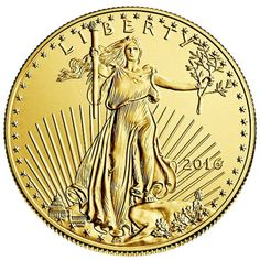 2016 1 Oz American Gold Eagle Coin (bu) for sale online Gold Bullion Bars, Bullion Coins, Silver Bullion, American Eagle Gold Coin, Augustus Saint Gaudens, Maple Leaf, Silver Investing, Gold Eagle Coins, Usa Gold