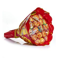 Chupa Chups Flower Bouquet Lollies - New Ideas Lollipop Bouquet, Gift Bouquet, Candy Bouquet, Chocolate Bouquet, Chocolate Treats, Princess Birthday Centerpieces, Harry Potter Candy, Candy Stand, Party Sweets