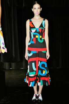Tata Naka Spring 2014: Bright Color Blocking, Surrealism, Clowns, and Soviet Aesthetics via The Terrier and Lobster